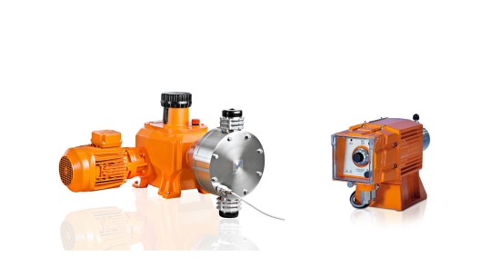<p>Diaphragm Metering Pumps</p>