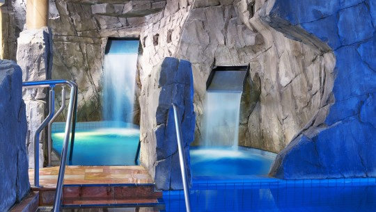 Water treatment at the world of wellness in Aachen, Germany