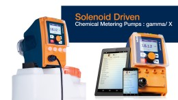 Solenoid Driven Chemical Metering Pumps gamma/ X